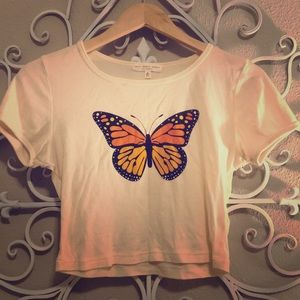 Butterfly Crop Top (S)